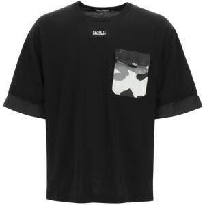Dolce & Gabbana Black T-Shirt Nylon Size L