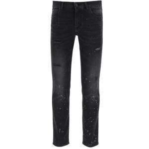 Dolce & Gabbana Black/Grey Jeans Size IT 46