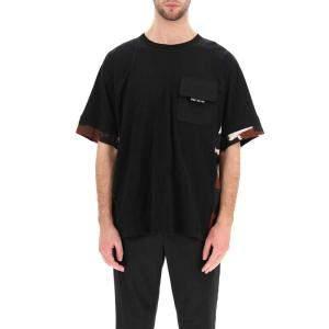 Dolce & Gabbana Black T-Shirt Camouflage Size S