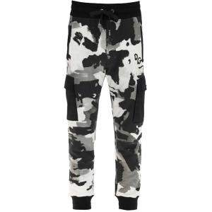 Dolce & Gabbana Multicolor Camouflage Jogging Trousers Size IT 52