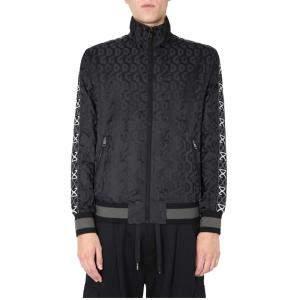 Dolce & Gabbana Black Zip Sweatshirt Size EU 50