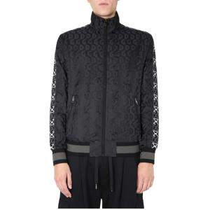 Dolce & Gabbana Black Zip Sweatshirt Size EU 52