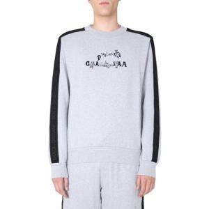 Dolce & Gabbana Grey logo-print Sweatshirt Size EU 50