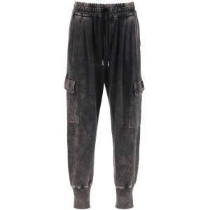 Dolce & Gabbana Grey Delave Jogger Pants Size EU 46