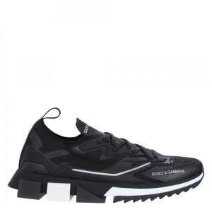Dolce & Gabbana Black Sorrento Sneakers Size EU 42.5