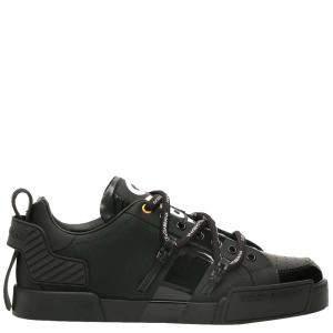 Dolce & Gabbana Black Portofino Sneakers Size EU 39