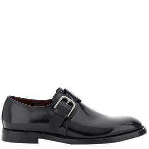 Dolce & Gabbana Calfskin Monk Strap Shoes Size IT 44