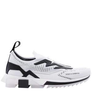 Dolce & Gabbana White Sorrento Slip On Sneaker Size EU 43
