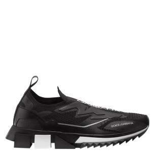 Dolce & Gabbana Black Sorrento Sneakers Size EU 41
