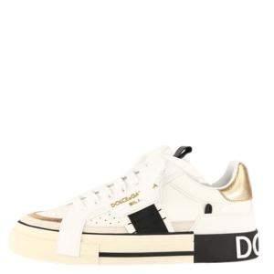 Dolce & Gabbana White Custom 2.Zero Sneakers Size EU 41