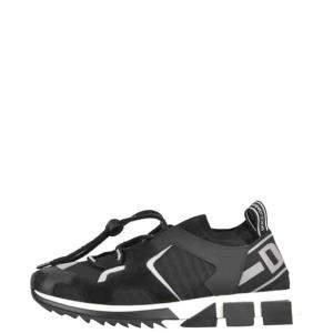 Dolce & Gabbana Black Sorrento Trekking Sneakers Size 42