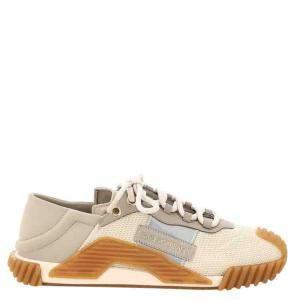 Dolce & Gabbana Beige/Brown NS1 Sneakers Size IT 43