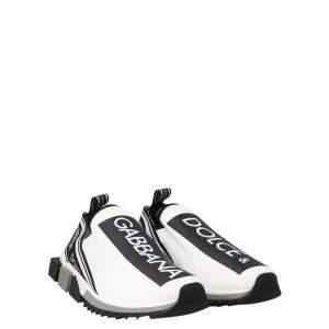 Dolce & Gabbana White Sorrento Sneakers SizeEU 40.5