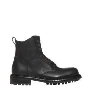 Dolce & Gabbana Black Leather Bernini Boots Size EU 43.5