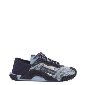 Dolce & Gabbana Blue NS1 Mixed Materials Sneakers Size EU 41