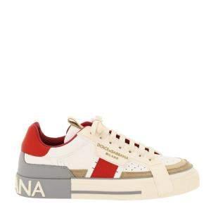 Dolce & Gabbana Beige Custom 2.Zero Sneakers Size IT 41