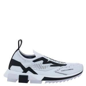 حذاء رياضي دولتشي آند غابانا سورينتو أسود / أبيض مقاس إيطالي  43