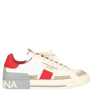 Dolce & Gabbana Multicolor 2.Zero Custom Sneakers Size IT 41