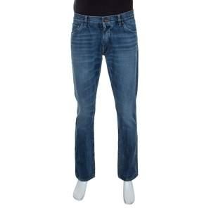 Dolce & Gabbana Blue Denim Classic Fit Jeans L