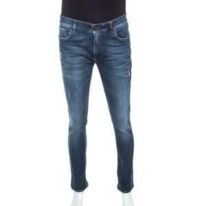 Dolce & Gabbana Blue Stretch Denim Jeans L