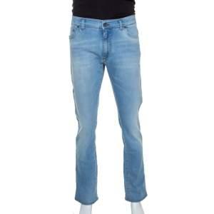Dolce & Gabbana Blue Stretch Denim Jeans XXL