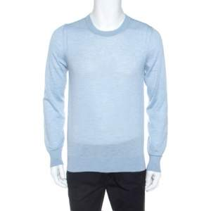 Dolce & Gabbana Light Blue Cashmere Sweater M