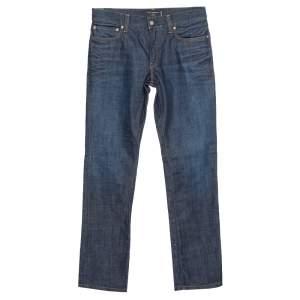 Dolce & Gabbana Indigo Denim 16 Classic Straight Leg Jeans S