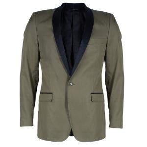 Dolce & Gabbana Men's Contrast Lapel Blazer M