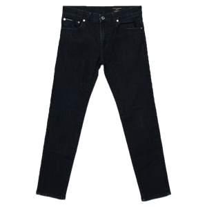 Dolce & Gabbana Dark Blue Denim Stretch Fit Comfort Jeans M