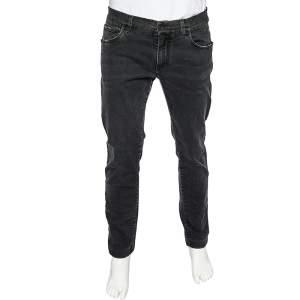 Dolce & Gabbana Black Denim Skinny Jeans XL
