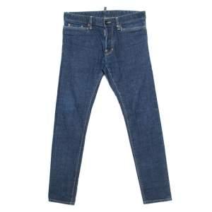 Dsquared2 Indigo Denim Slim Fit Jeans M