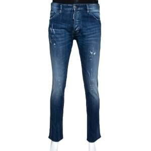 Dsquared2 Inidigo Medium Wash Denim Cool Guy Jeans L
