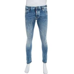 Dsquared2 Blue Denim Twist Jeans M