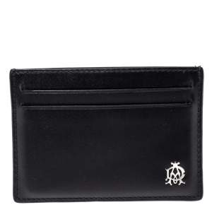 Dunhill Black Leather Card Holder