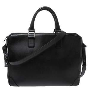 حقيبة مستندات دنهل جلد سوداء
