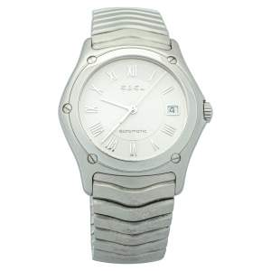 ساعة يد رجالية إبيل كلاسيك ستانلس ستيل أوتوماتيك 9120F41 فضية 37مم