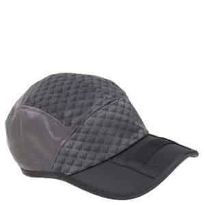 Emporio Armani Grey All Over Eagle Pattern Baseball Hat S/M