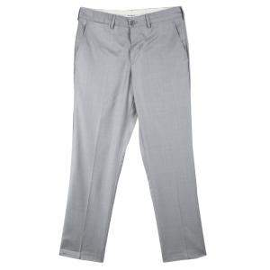 Emporio Armani Grey Wool Josh Line Tailored Trousers M