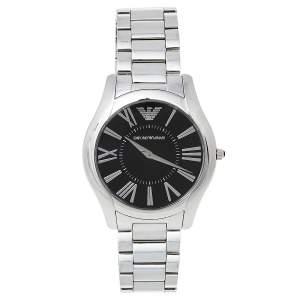 Emporio Armani Black Stainless Steel AR2022 Men's Wristwatch 43 mm