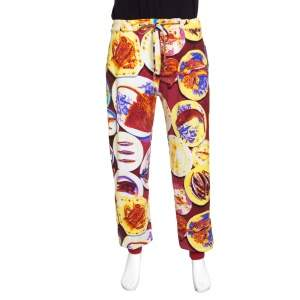 Etro Multicolor Fish Print Drawstring Detail Jogger Pants XXL