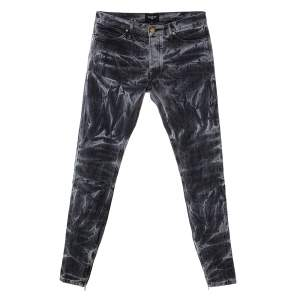 Fear Of God Black Holy Water Denim Slim Fit Selvedge Jeans M