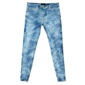 Fear Of God Indigo Acid Washed Denim Slim Fit Selvedge Jeans M