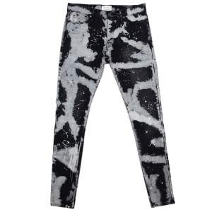Fear of God X Maxfield Black Tie Dye Denim Skinny Jeans M