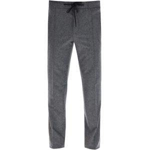 Fendi Ash Flannel Trousers Size IT 48