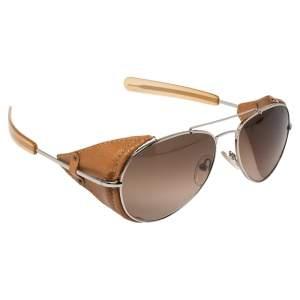 Fendi Brown/Black Gradient FS5215L Aviator Sunglasses