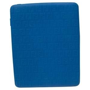 Fendi Blue Zucchino Rubber iPad Case