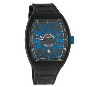 ساعة يد رجالية فرانك مولر فان غارد V 45 SC DT TT NR BR NR تيتانيوم سوداء 44 مم