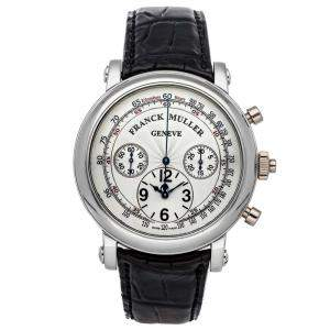 Franck Muller Silver Stainless Steel Classic Round 7002CCRCDFACE Men's Wristwatch 43 MM