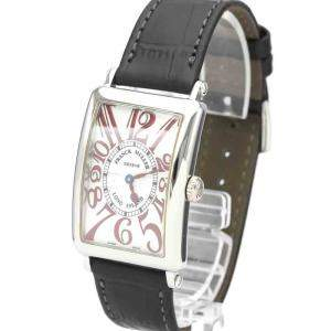 Franck Muller Silver Stainless Steel Long Island Japan LTD Edition 952 QZ JA Men's Wristwatch 26 MM