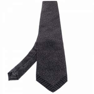 ربطة عنق جيانفرانكو فيري حرير تراديشنال مطبوع منقوش رمادي
